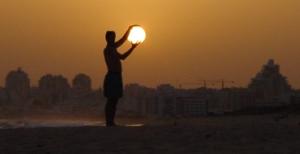 De zon als bron van ultra violet licht